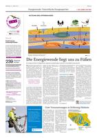 Artikel in der sh:z Tageszeitung über Energiespeicher und ANGUS+